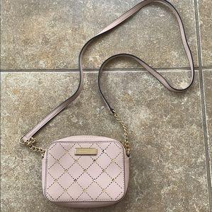 Rare Micheal Kors Blush Pink Crossbody Bag